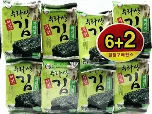 Seasoned Seaweed 8pck