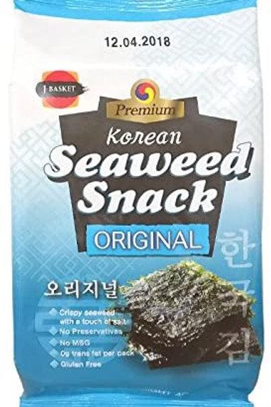 JB Seaweed Snack - Original 3pck