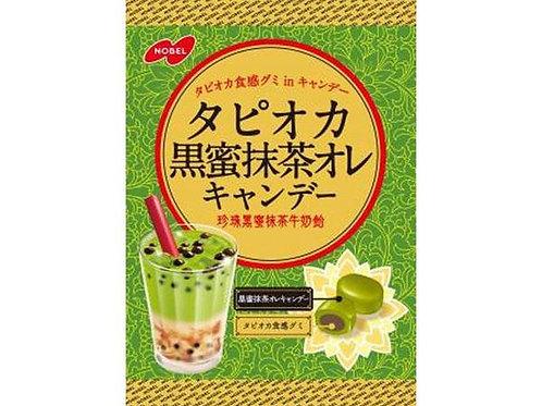 Tapioca Kuromitsu Matcha Au Lait Candy
