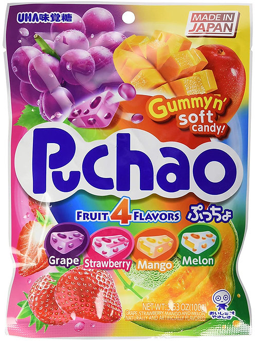 Puchao Gummy Candy - 4 Flavors