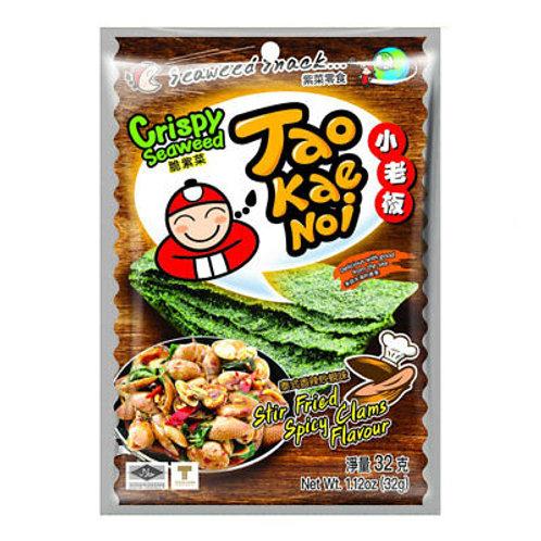 TKN Crispy Seaweed - Stir fried Spicy Clams Flavor