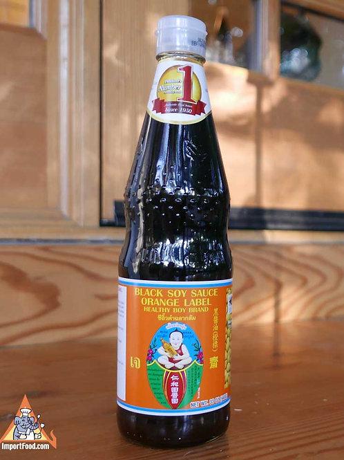 HBB black soy sauce orange label
