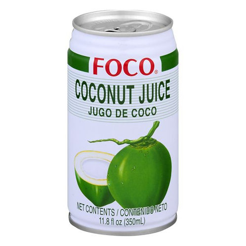 Foco Coconut Juice 11.8 oz