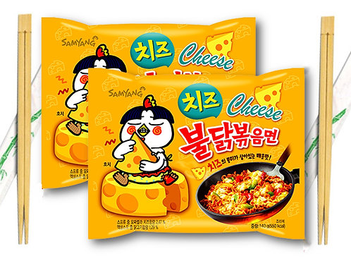 Samyang Hot Chicken Ramen with Cheese