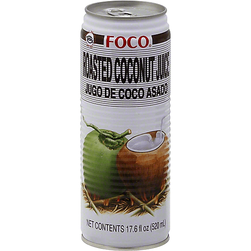 Foco Roasted Coconut Juice 17.6 oz