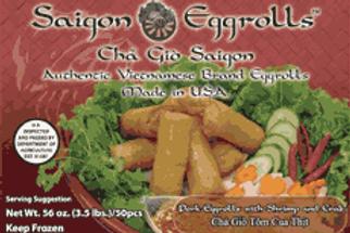 Saigon Eggrolls Pork & Shrimp & Crab