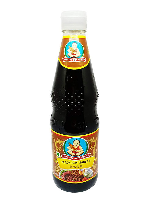 Healthy boy brand black soy sauce A