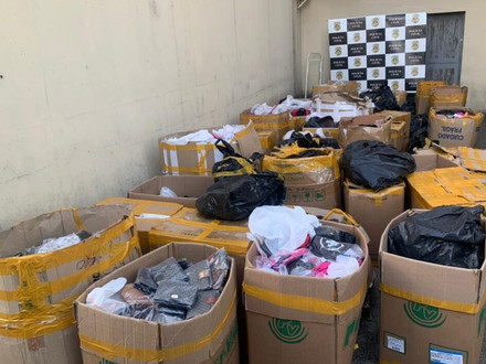 Deic seizes about two tons of counterfeit goods
