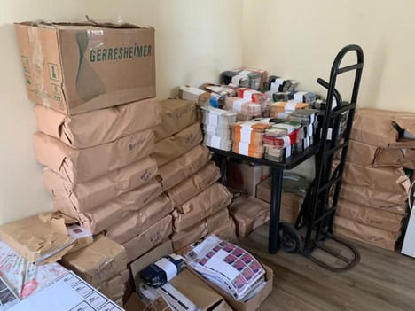 Civil Police seize 580 thousand counterfeited perfumes and packages