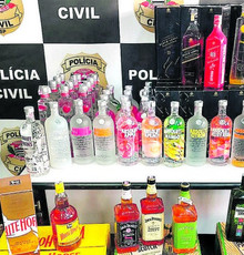 New seizure of counterfeit drinks: 102 bottles