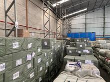 Receita Federal apreende mais de 100 mil aparelhos de tv box em Itaguaí, no Rio de Janeiro.