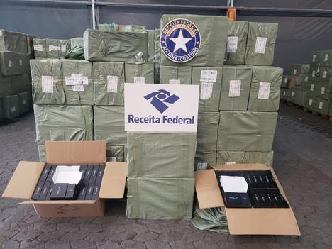 Federal Revenue seizes almost 124 thousand TV Box sets in the Port of Rio de Janeiro