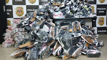 Police seized 500 pairs of counterfeited sneakers in Campinas