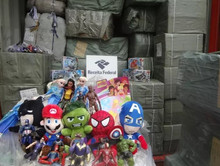 Large cargo of counterfeit toys is seized in Itajaí