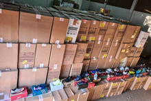 In Pará, Sefa seizes 4,548 pairs of counterfeit shoes from Minas Gerais