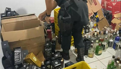 Military Police finds out clandestine beverage factory