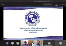 BPG realiza webinar sobre falsificação de marcas para a Polícia Rodoviária Federal