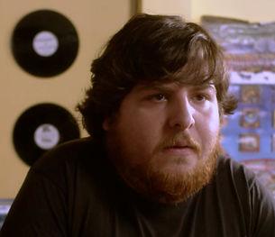 "Nick Anton as Cutting-Edge Guy in ""Warmed-Over Krautrock"""