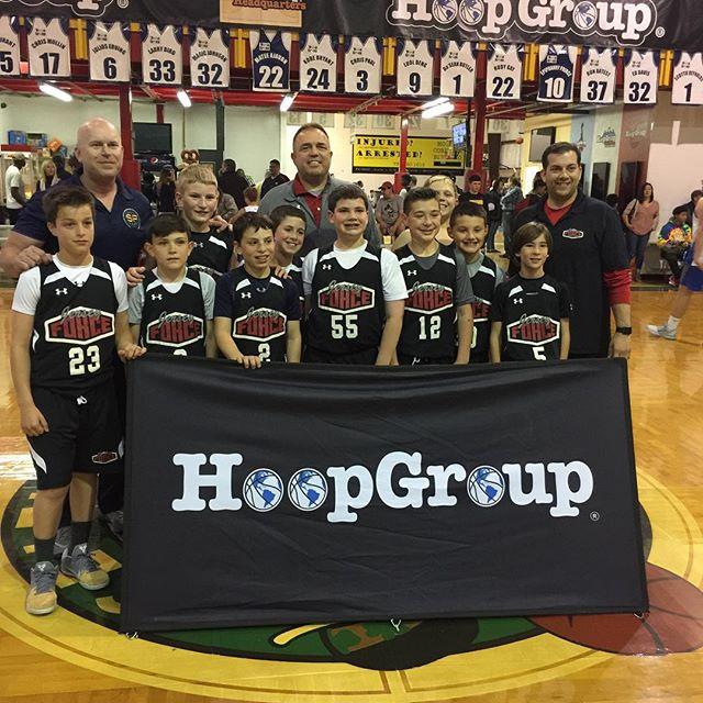 U11Haney beat _njshoreshots (Cranwell) 30-11 to win the _hoopgroup Spring Jr Showdown, Passalaqua &