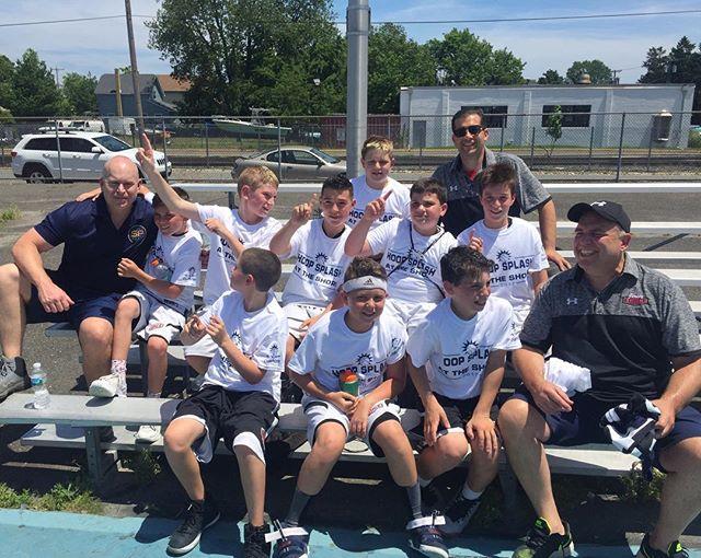 U11Haney beat _njshoreshots U12 (McCarthy) to win NJ Hoop Splash, Leo Passalaqua & Colin Earnest led