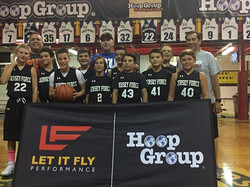 o 2023 group beat the _njshoreshots last night to win the _hoopgroup Summer Youth League