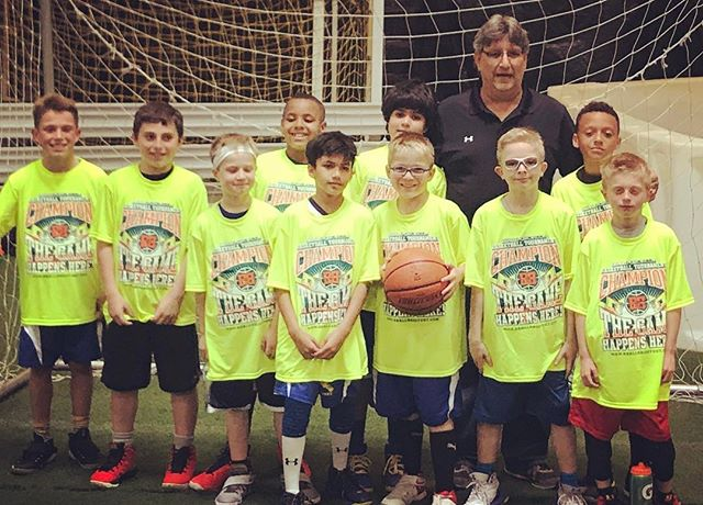 U9Vaccaro went up north to _bballshootout & went 4-0 en route to winning it in a 34-32 thriller over