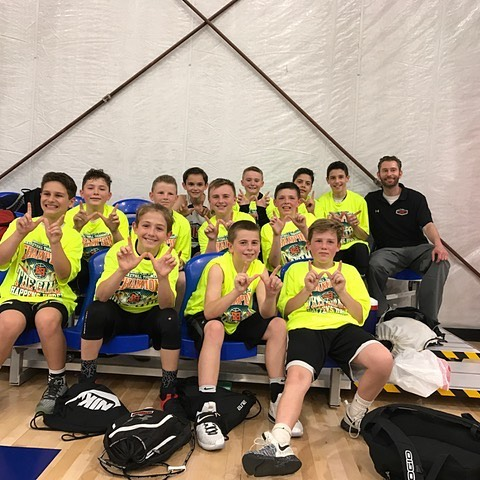 U12Bazaz are your champions of the 6th Grade Baller Division at the Sportika Spring Jam Classic