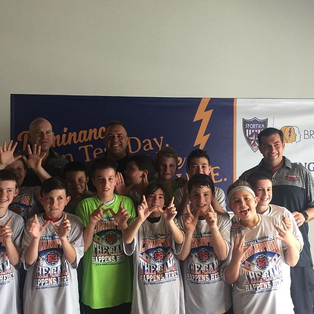 U11Haney are champions of the Baller Division at the Sportika Spring Jam Classic, they have now won