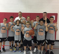U11Haney continued their fantastic season by beating the NJ Wolfpack to win _gardenstatebasketball P