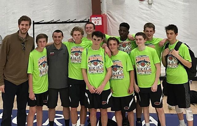 a special group, U14Fagan wins the Sportika Spring Jam Classic, their 3rd tourney title this year an