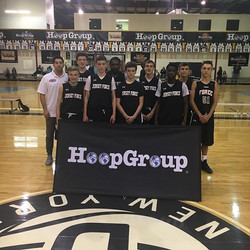 U14Rotando beats NJ Warriors on a Chris Kessler 3 at the buzzer to win the _hoopgroup Spring Jr Show