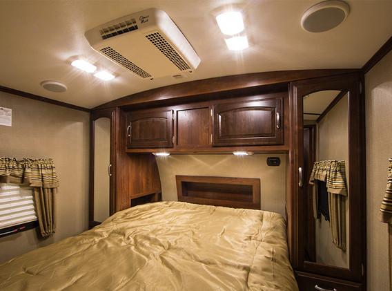 All-LED Bedroom Lighting
