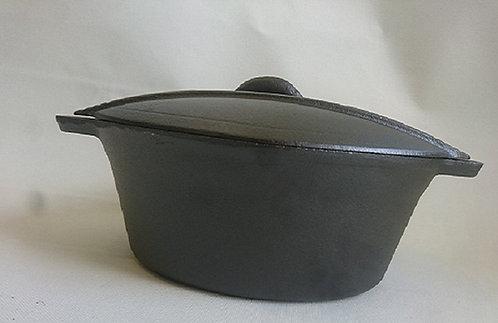 סיר בישול יציקה מעוצב 3 ליטר