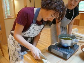Le cours de cuisine japonaise pour les francophones                                            フランス語