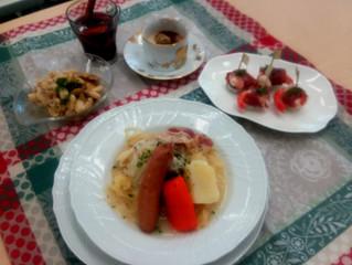 らでぃっしゅぼーや2月の普段着のフランス料理