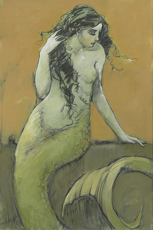 Mermaids in Green No4