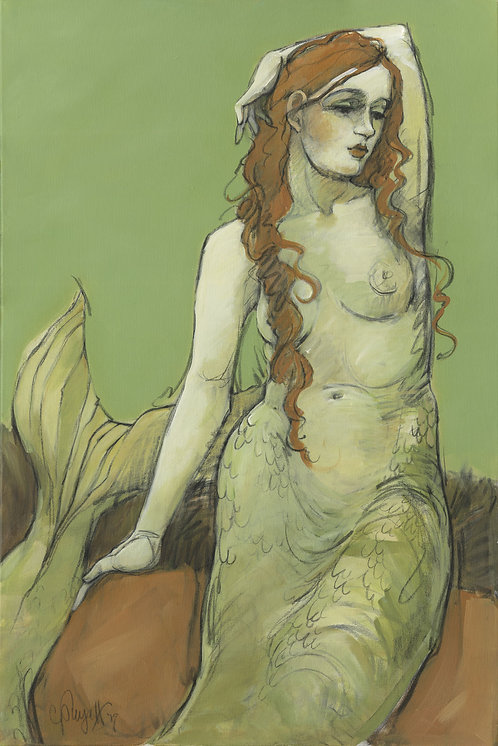 Mermaids in Green No1