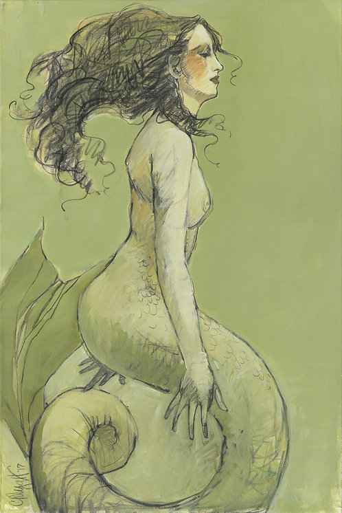 Mermaids in Green No2