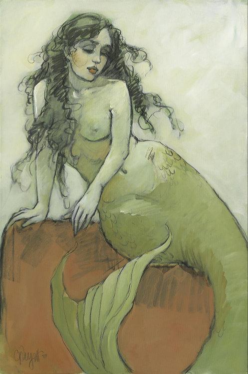 Mermaids in Green No3