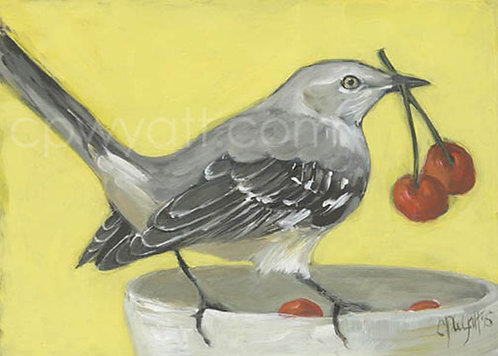 Birds In The Kitchen: Mockingbird