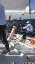 On board Barcolana