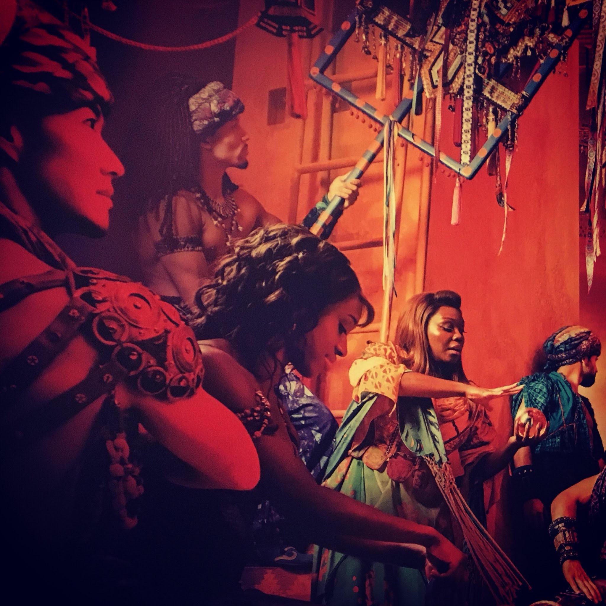 Publicity Shoot. Aladdin.