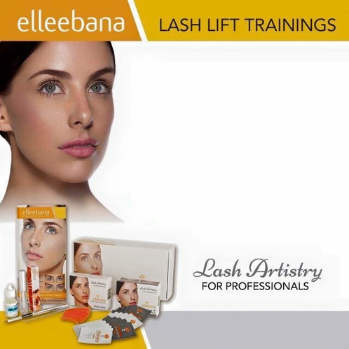 1842404bd1a Hands-On Elleebana Lash Lift Training with kit & certification