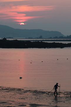 褔正夕陽之美