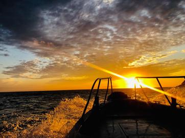 遊艇海上看東引