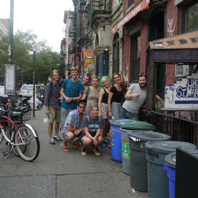 RIOT at Under St Marks NYC (2012)