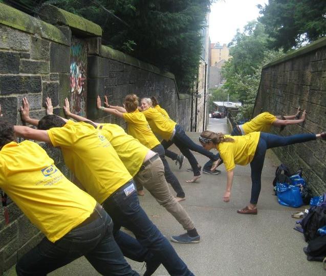 Warm up for RIOT in Edinburgh (2011)
