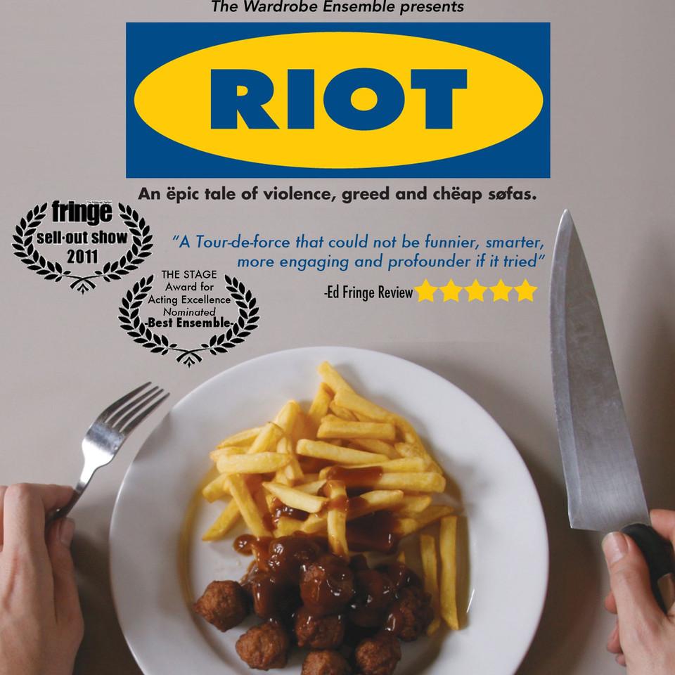 RIOT flyer (2012)