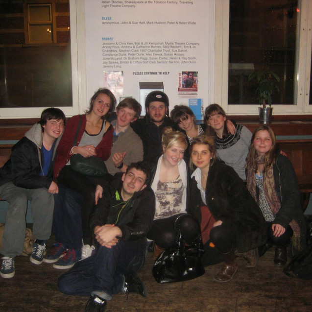 After Prototype sharing of RIOT at Tobacco Factory Bristol (2011)