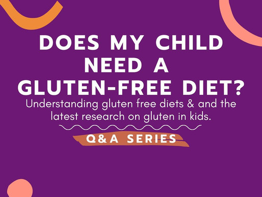 Are Gluten-Free Diets Healthier for Kids?